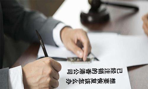 已经注销的香港公司想要恢复该怎么办? 第2张