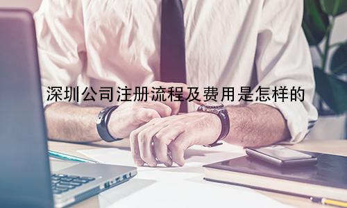 深圳公司注册流程及费用是怎样的?